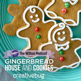 THE WILTON METHOD | Gingerbread presented by Creativebug