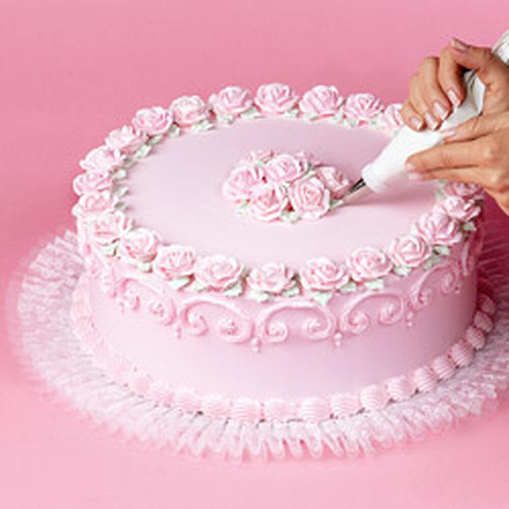 How To Add Tuk N Ruffle To Cake Boards Wilton