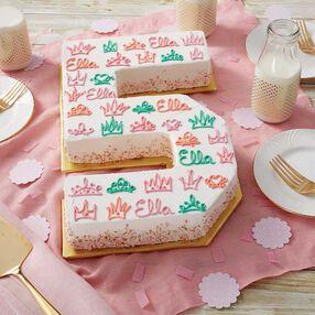 Crowned in Glory Princess Cake