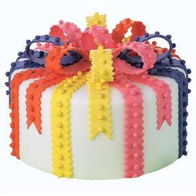 Bright With White Cake