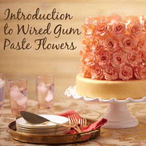 THE WILTON METHOD | Introduction to Wired Gum Paste Flowers