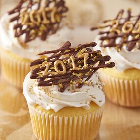 Happy New Year 2017 Cupcakes