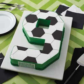Go for the Goal Soccer Cake