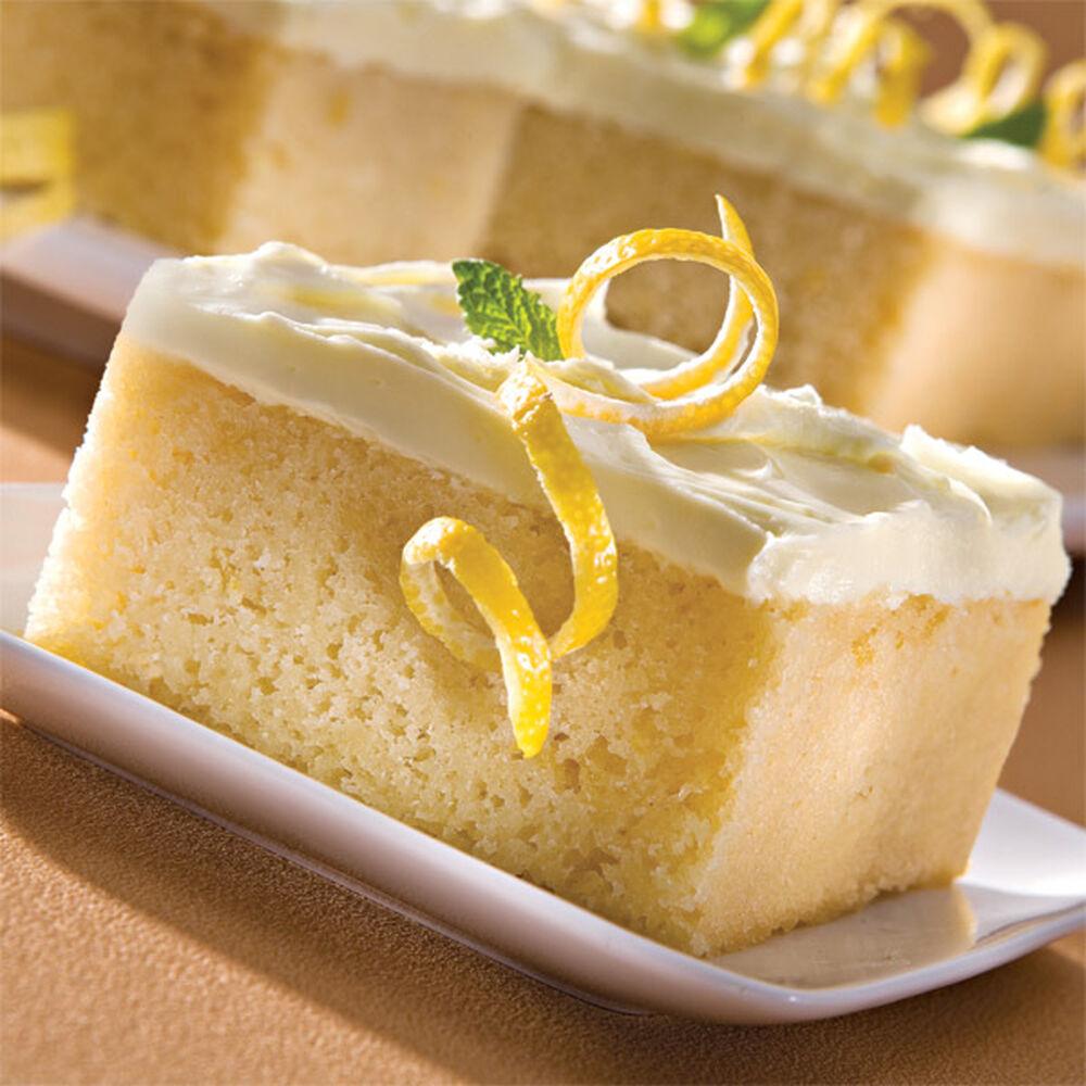 Lemon Cake Decoration Ideas : Lemon Cake Recipe Wilton