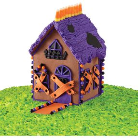 Frightfully Fun Halloween Cookie House #1
