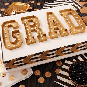 GRAD Marquee Cake