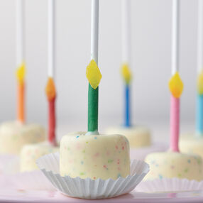 Birthday Cake Candy Marshmallow Pops