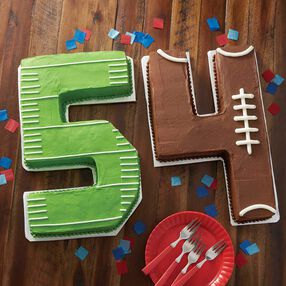 Football 54 Cakes